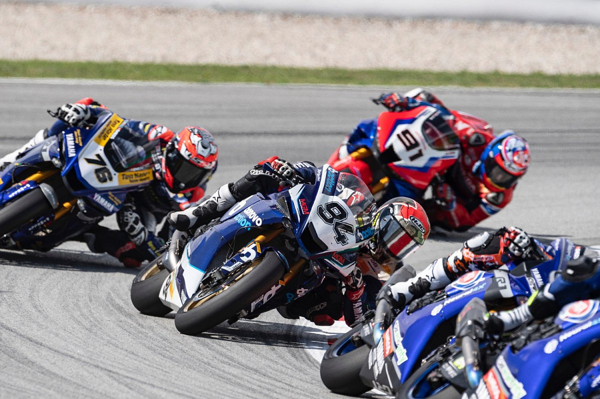 Jonas Folger ließ in Barcelona sein volles Können aufblitzen, Foto: Yamaha Racing