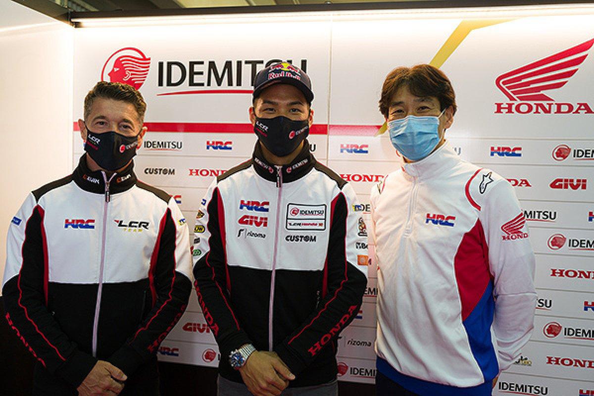 Honda hält weiter an Takaaki Nakagami fest, Foto: LCR Honda