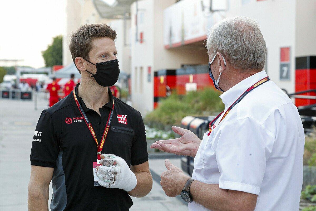 Romain Grosjean verpasst auch den Großen Preis von Abu Dhabi, Foto: LAT Images