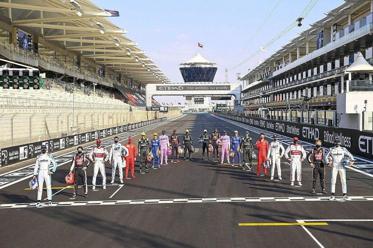 Wie sieht das Formel-1-Fahrerfoto (hier Abu Dhabi 2020) in der Saison 2022 aus?, Foto: LAT Images