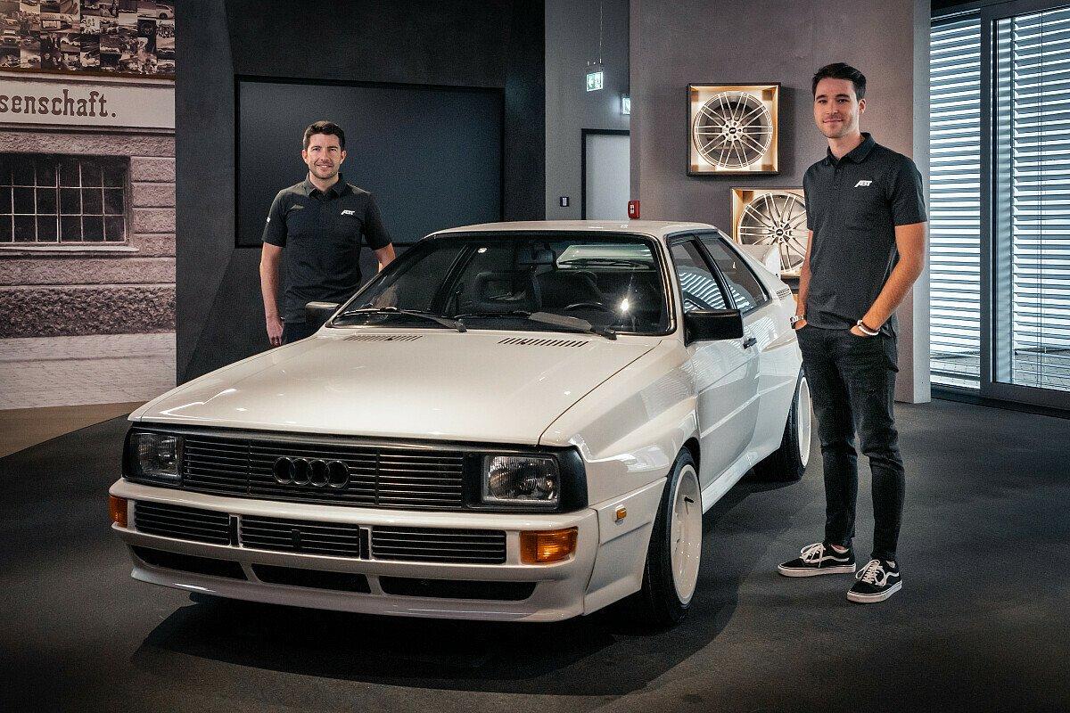 Mike Rockenfeller und Kelvin van der Linde starten 2021 für Abt Sportsline in der DTM, Foto: Abt Sportsline