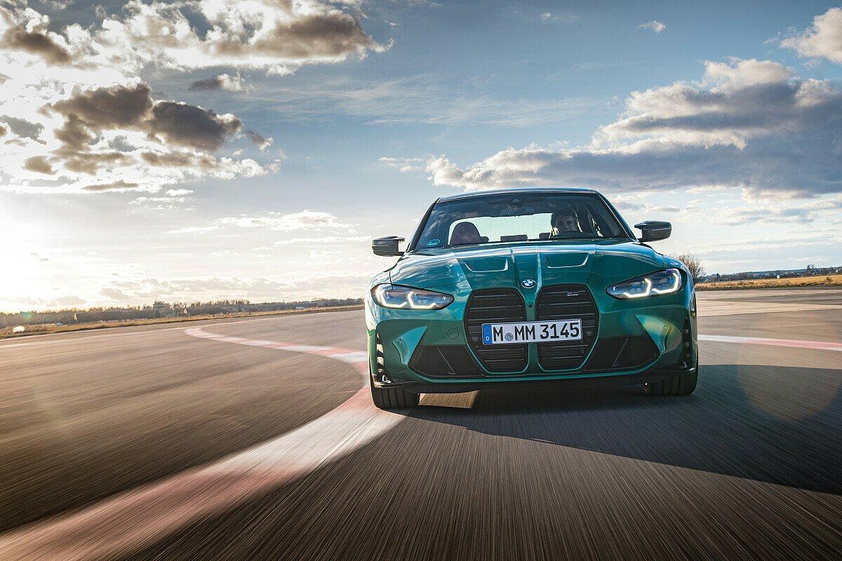 Der neue M3 ist 122 Millimeter länger als sein Vorgänger, Foto: BMW