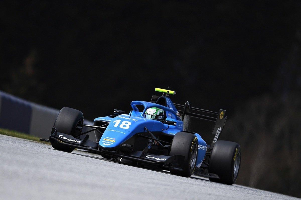 Caio Collet ist bei den Testfahrten am Red Bull Ring der schnellste Formel-3-Pilot., Foto: Formula 3