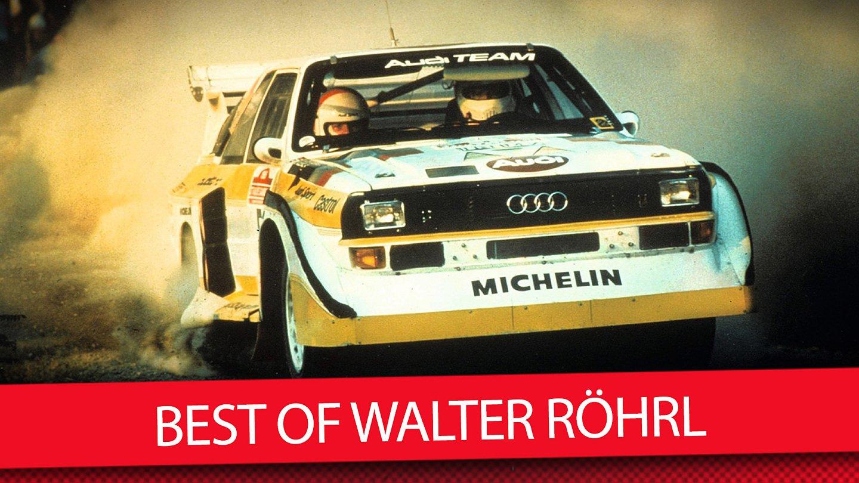 Zum 70 Die 5 Krassesten Autos Von Walter Rohrl