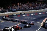 Formel 1 2005, belgien, spa, start, eau rouge, Bild: Sutton