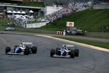 Formel 1, Brasilien GP, 1994, Brasilien, Williams, A. Senna, D. Hill, Bild: Sutton