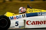 1985, Formel 1, Brands Hatch, Williams, Mansell, Bild: Sutton