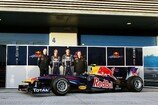 Formel 1 2010, Red Bull, Launch, Präsentation, RB6, Newey, Vettel, Webber, Horner, Portrait, Bild: Sutton