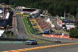 Formel 1 2012, Belgien GP, Sonntag, Safety Car, Button, McLaren, Bild: Sutton