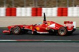 Formel 1 2013, Barcelona I, Tests, Testfahrten, Barcelona, Alonso, Ferrari, Bild: Sutton