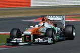 2013, Formel 1, Young Driver Test, Silverstone, Freitag, Sutil, Force India, Bild: Sutton