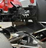 2014, Formel 1, Technik, Beamwing, Williams, Ferrari, Technik, Detail, Bild: Sutton