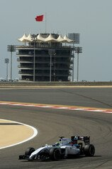 Formel 1 2014, Bahrain GP, Freitag, Massa, Williams, Bild: Sutton