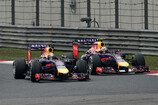 2014, China GP, Formel 1, China, Shanghai, Rennen, Sonntag, Red Bull, Vettel, Ricciardo, Bild: Sutton