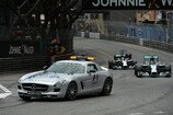 Formel 1 2014, Monaco GP, Sonntag, Safety Car, Rosberg, Hamilton, Vettel, Mercedes, Red Bull, Bild: Sutton