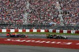 Formel 1 2014, Kanada GP, Sonntag, Perez, Ricciardo, Force India, Red Bull, Bild: Sutton