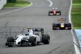 Formel 1 2014, Deutschland GP, Sonntag, Bottas, Vettel, Alonso, Williams, Red Bull, Ferrari, Bild: Sutton