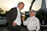 Formel 1 2014, Deutschland GP, Samstag, Mercedes-Benz, Night of the Stars, Dr. Dieter Zetsche, Ecclestone, Bild: Sutton