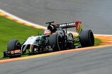 Formel 1 2014, Belgien GP, Freitag, Hülkenberg, Force India, Bild: Sutton