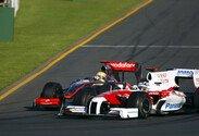 Melbourne, Trulli, Toyota, Hamilton, McLaren