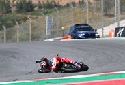 MotoGP, Johann Zarco, Ducati, Portugal, Portugal GP, Rennen, Algarve, Sonntag, Crash, Unfall