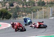 MotoGP, Johann Zarco, Ducati, Portugal, Portugal GP, Rennen, Algarve, Sonntag, Crash, Unfall, Francesco Bagnaia