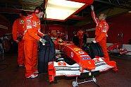 Vallelunga-Testfahrten ab dem 10.01.2005 - Formel 1 2005, Testfahrten, Bild: Ferrari Press Office