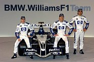Williams FW27 & Roll-Out (Valencia, 31.01.05) - Formel 1 2005, Präsentationen, Bild: BMW