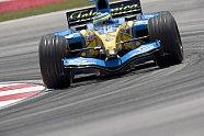 Freitag - Formel 1 2005, Malaysia GP, Sepang, Bild: Renault