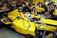 Freitag - Formel 1 2005, Malaysia GP, Sepang, Bild: Jordan