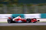Freitag - Formel 1 2005, Malaysia GP, Sepang, Bild: Toyota