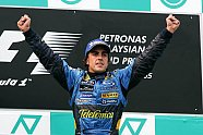 Podium - Formel 1 2005, Malaysia GP, Sepang, Bild: xpb.cc