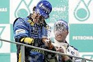 Podium - Formel 1 2005, Malaysia GP, Sepang, Bild: Renault