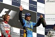 Podium - Formel 1 2005, Bahrain GP, Sakhir, Bild: Sutton