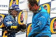 Podium - Formel 1 2005, San Marino GP, Imola, Bild: Sutton