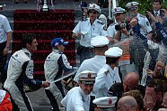 Podium - Formel 1 2005, Monaco GP, Monaco, Bild: BMW