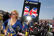 Silverstone: Zeitreise mit den heißesten Girls beim Großbritannien GP - Formel 1 2005, Verschiedenes, Großbritannien GP, Silverstone, Bild: Sutton