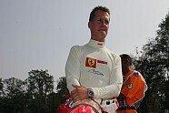 M. Schumacher's Crash - Formel 1 2005, Italien GP, Monza, Bild: Sutton