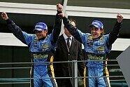 Podium - Formel 1 2005, Italien GP, Monza, Bild: Sutton