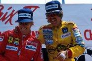 Formel-1-Kappen im Wandel der Zeit - Formel 1 1985, Verschiedenes, Bild: Sutton