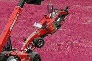 Crash - Formel 1 2006, Australien GP, Melbourne, Bild: Sutton