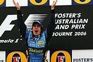 Podium - Formel 1 2006, Australien GP, Melbourne, Bild: Sutton