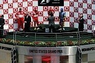 Podium - Formel 1 2006, US GP, Indianapolis, Bild: Sutton