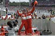 Sonntag - Formel 1 2006, Deutschland GP, Hockenheim, Bild: Ferrari Press Office
