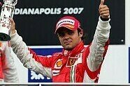 Podium - Formel 1 2007, US GP, Indianapolis, Bild: Sutton