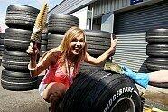 Girls - Formel 1 2007, Großbritannien GP, Silverstone, Bild: Sutton