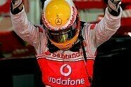 Podium - Formel 1 2007, Großbritannien GP, Silverstone, Bild: Sutton