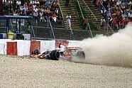 Neue Bilder vom Hamilton-Crash - Formel 1 2007, Verschiedenes, Europa GP, Nürburg, Bild: Sutton