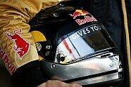 Vettels Helme im Wandel der Zeit - Formel 1 2007, Verschiedenes, Bild: Sutton