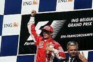 Podium - Formel 1 2007, Belgien GP, Spa-Francorchamps, Bild: Sutton
